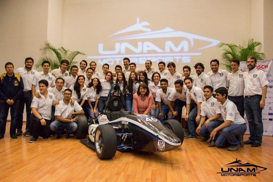 UNAM Fórmula Uno Europa SAE Facultad de Ingeniería