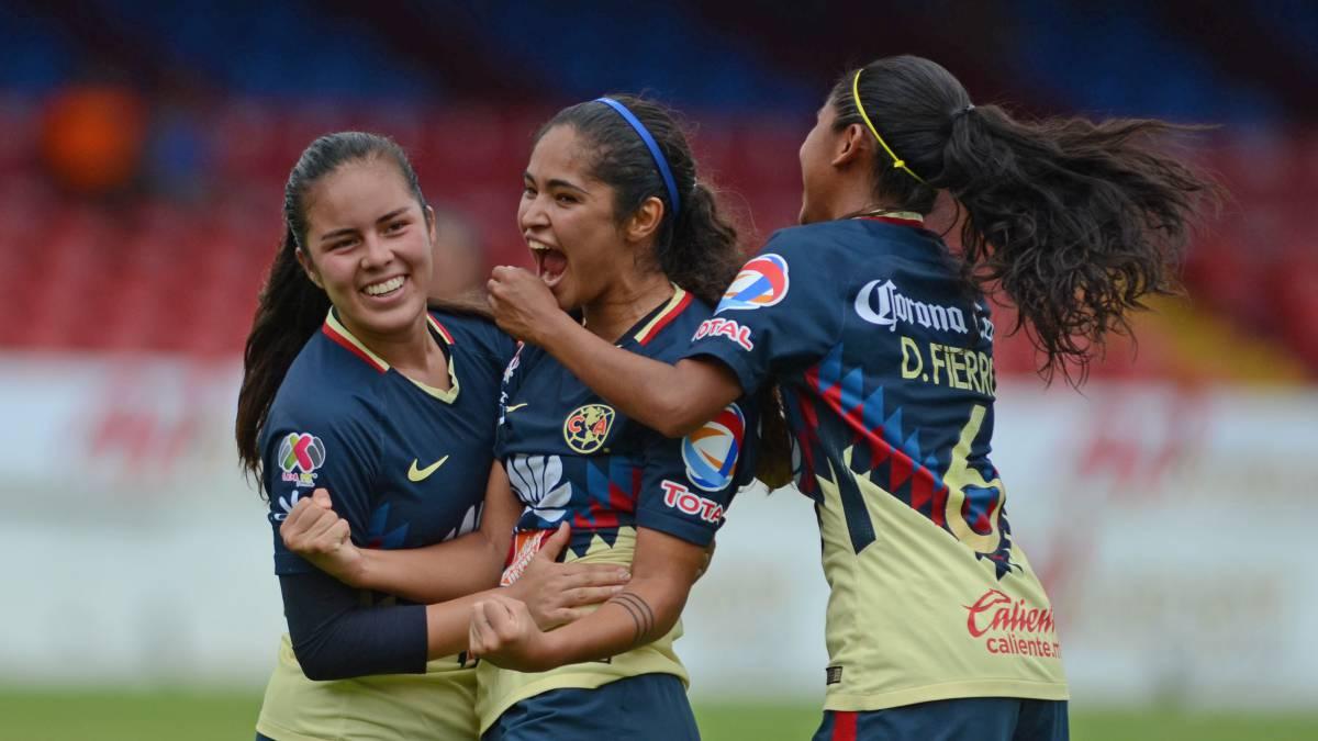 Semifinales, liga mx, femenil, mujeres, primera edición, horarios, clásico, Chivas, América, Pachuca, Tigres