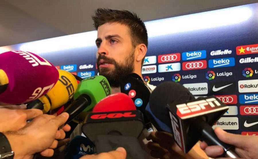 Piqué Barcelona referéndum España video lágrimas