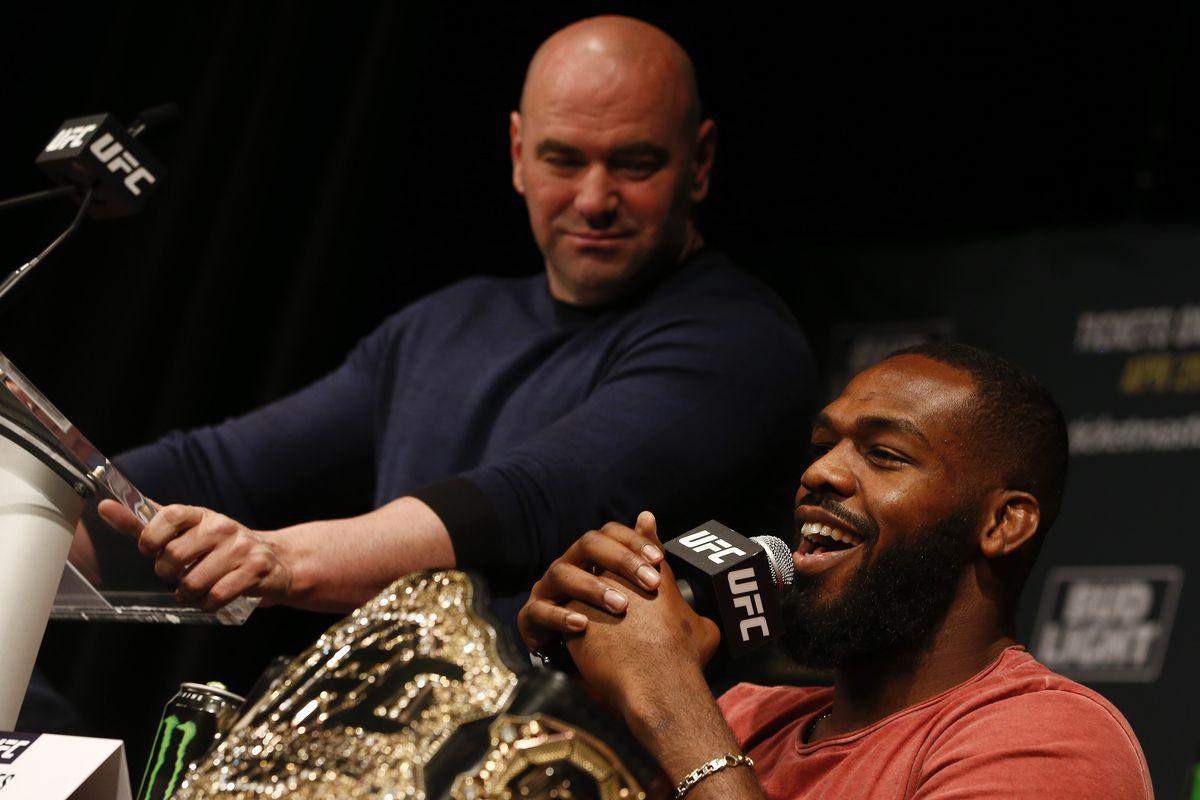 Jon Jones Dana White desperdicio UFC dopaje
