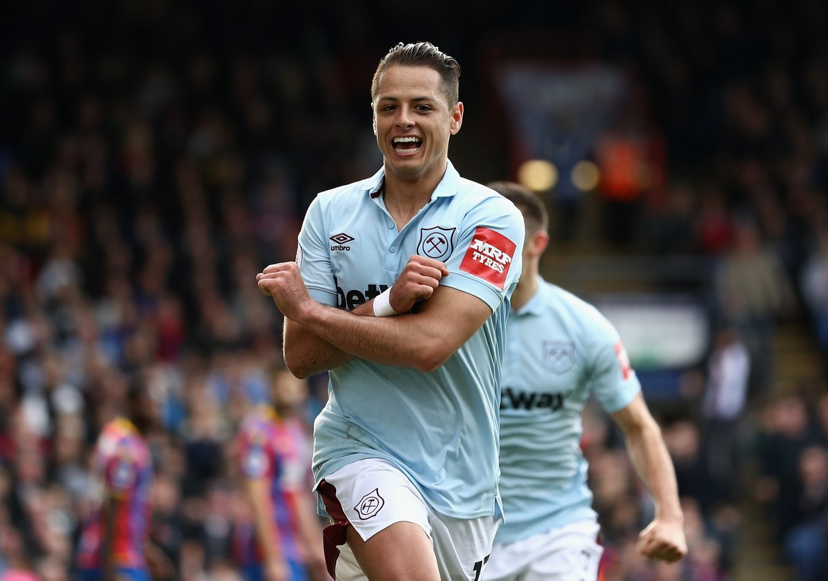 Chicharito West Ham Gol Empate Premier League