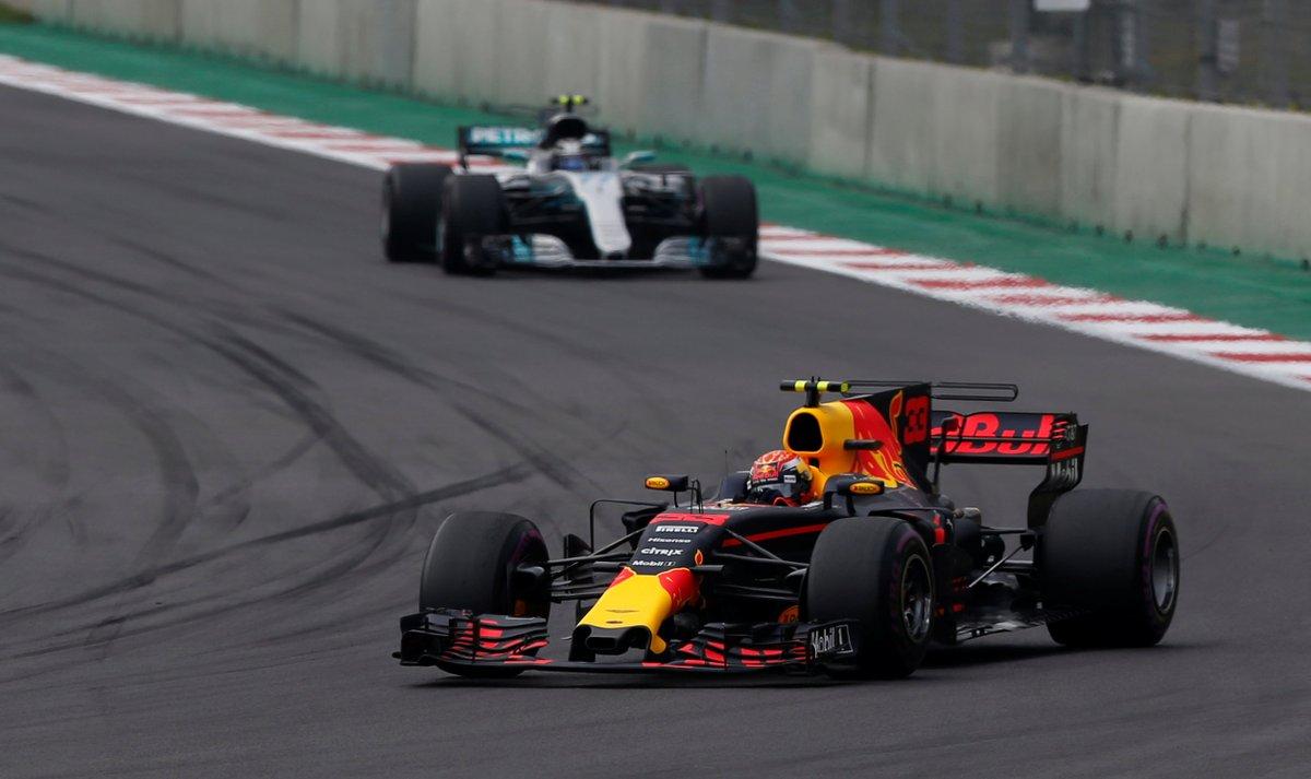 Lewis Hamilton Max Verstappen Gran Premio México Fórmula 1