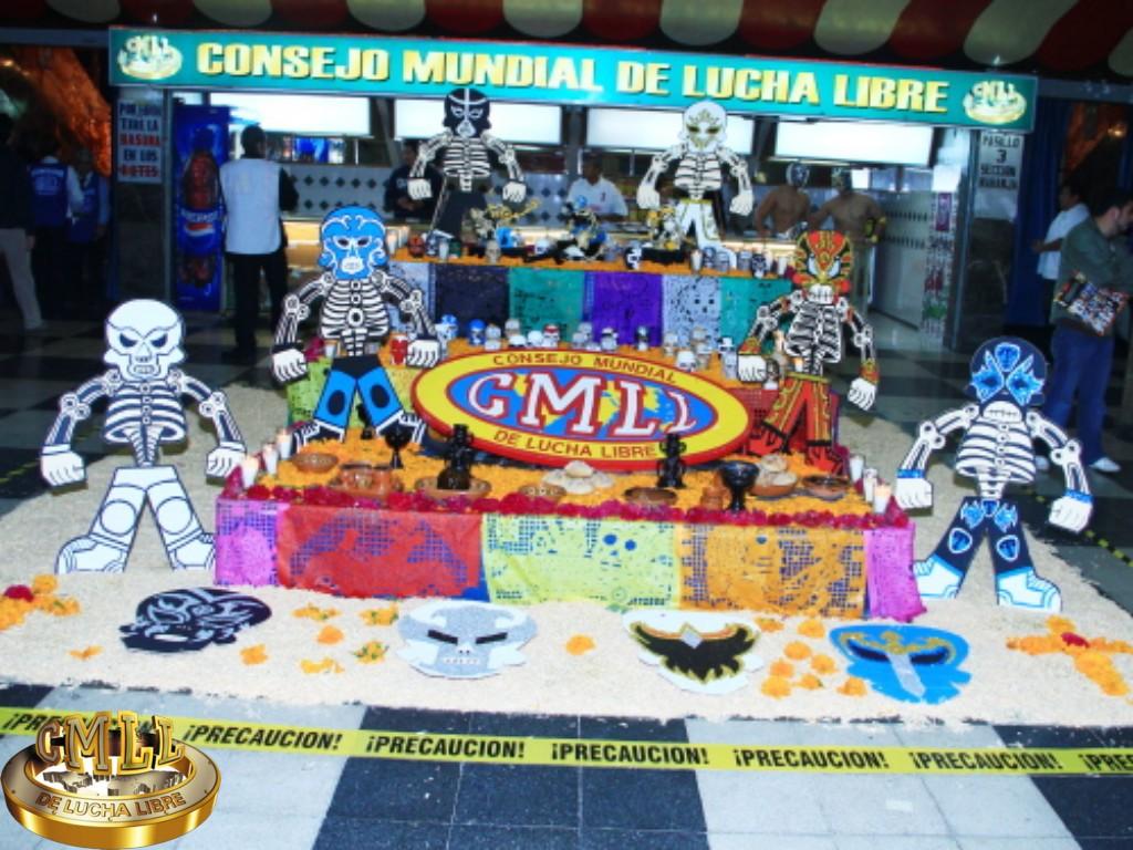 CMLL, programa especial, Día de muertos, Monumental Arena México, lucha libre, Xólotl