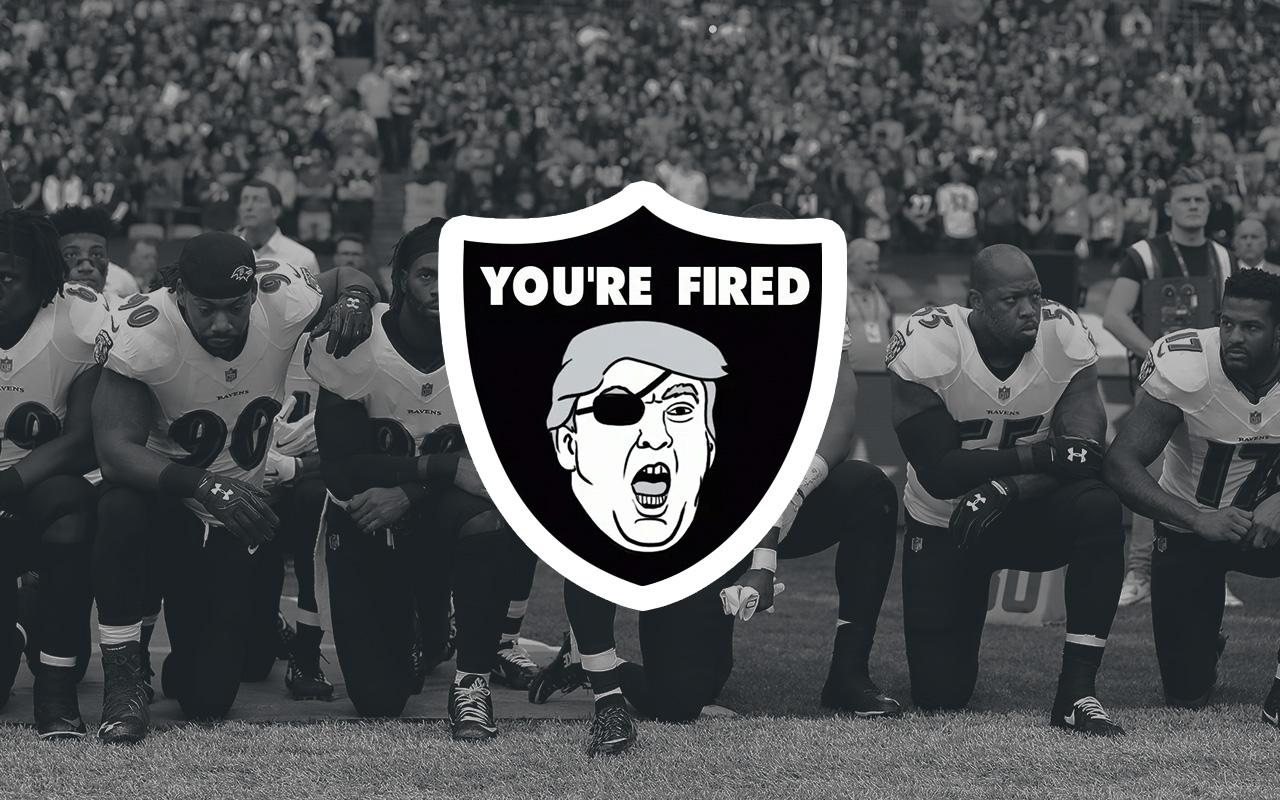 Donald Trump Protestas NFL castigo himno Kaepernick