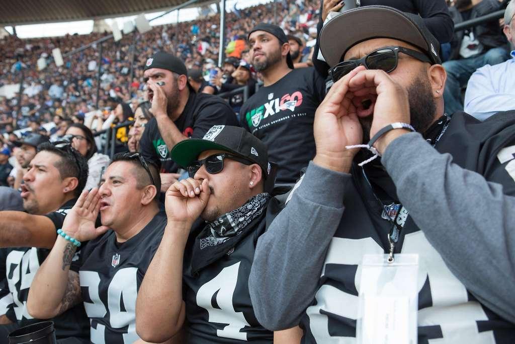 Grito homofóbico CBS NFL México Eh Puto Raiders Patriots