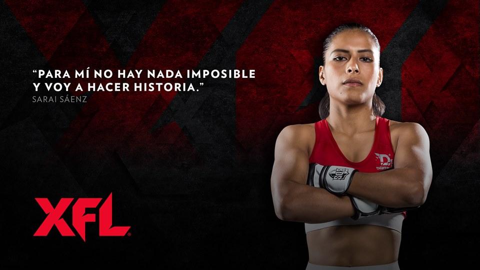 XFL MMA Arena México cartelera peleadores cenicienta