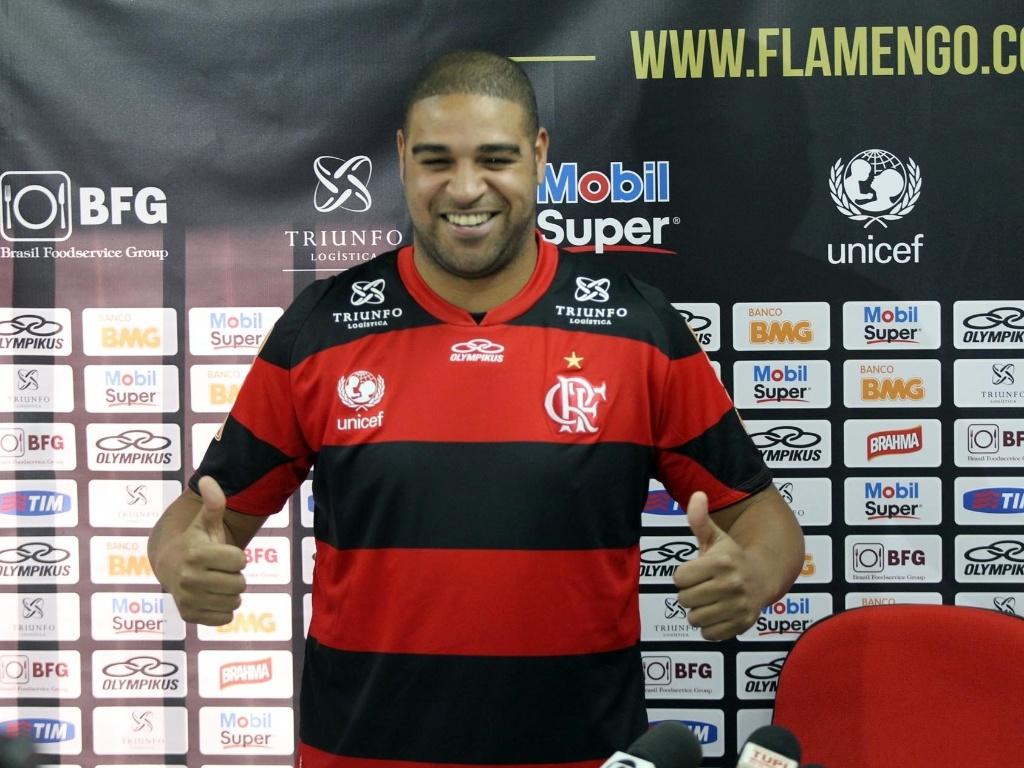 Adriano Leite, quiere regresar al futbol, Flamengo, Brasil, va a entrenar, no juega desde 2016, Emperador