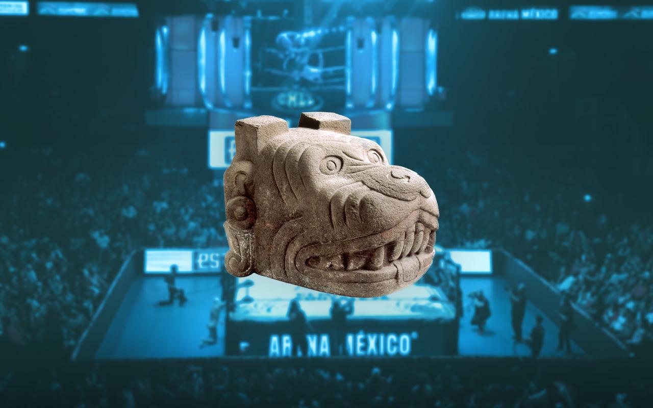 Día de muertos, Arena México, Lucha Libre, CMLL, México ancestral, tradición, evento especial, ofrenda, Inframundo, Xólotl