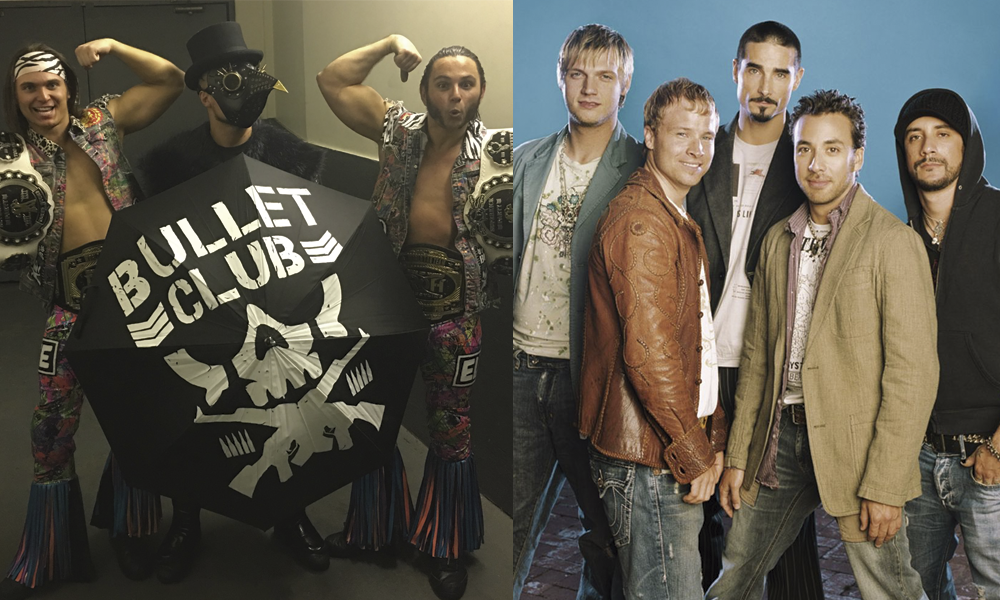 ROH Backstreet Boys The Bullet Club video The Elite