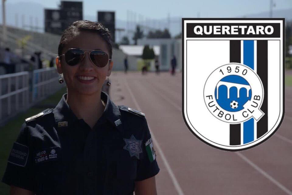 Tamara Romero García, futbolista, Policía federal, refuerzo, Querétaro, femenil, Liga MX, combinará labores, futbol, bicampeona