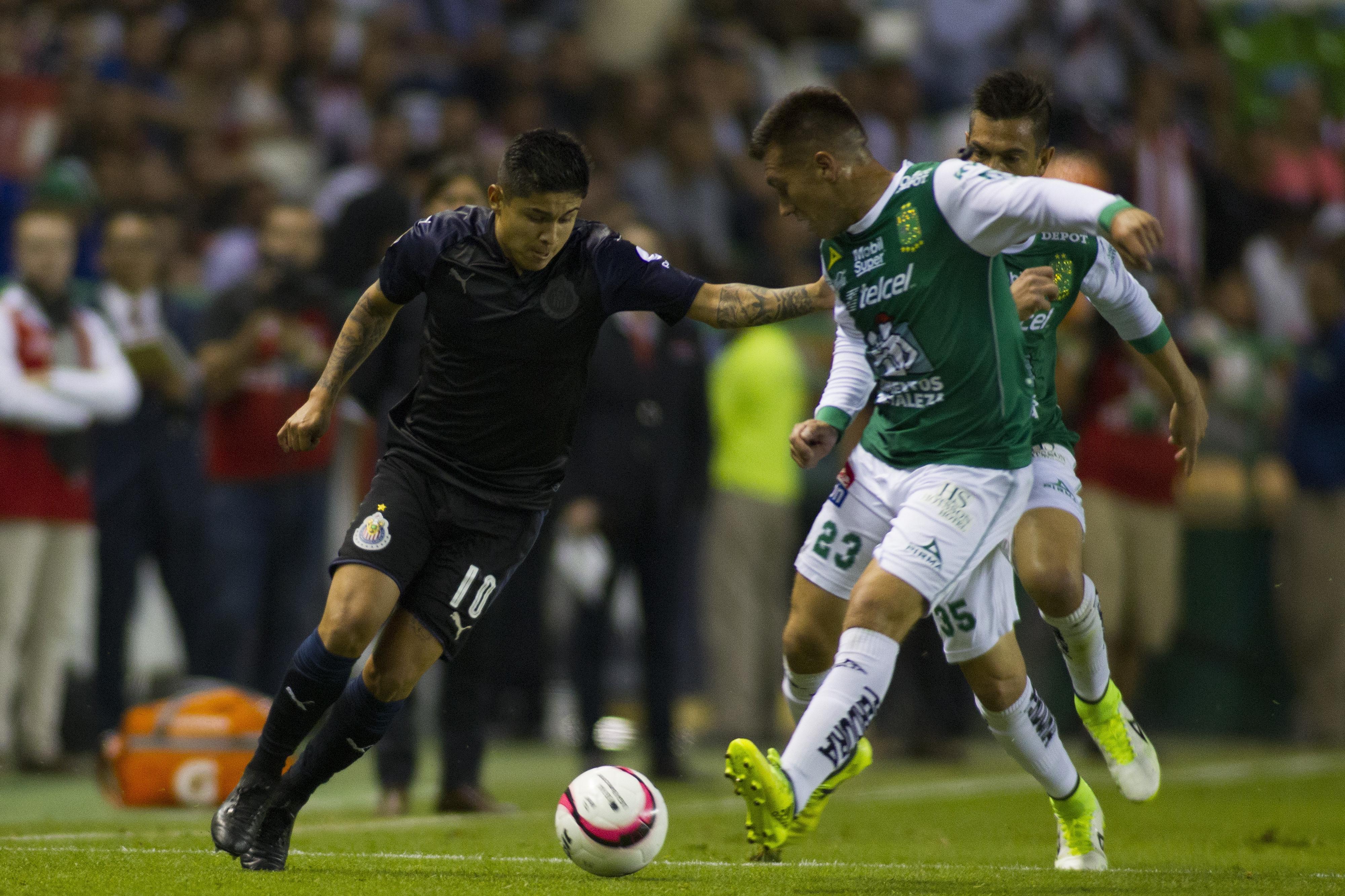 Matías Almeyda Chivas Chofis López Javier Eduardo López Guadalajara Chofis y Almeyda Pelado Almeyda Chivas Clausura 2018