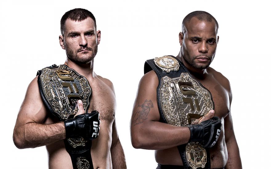 UFC Miocic Cormier Las Vegas UFC 226 Fight Week