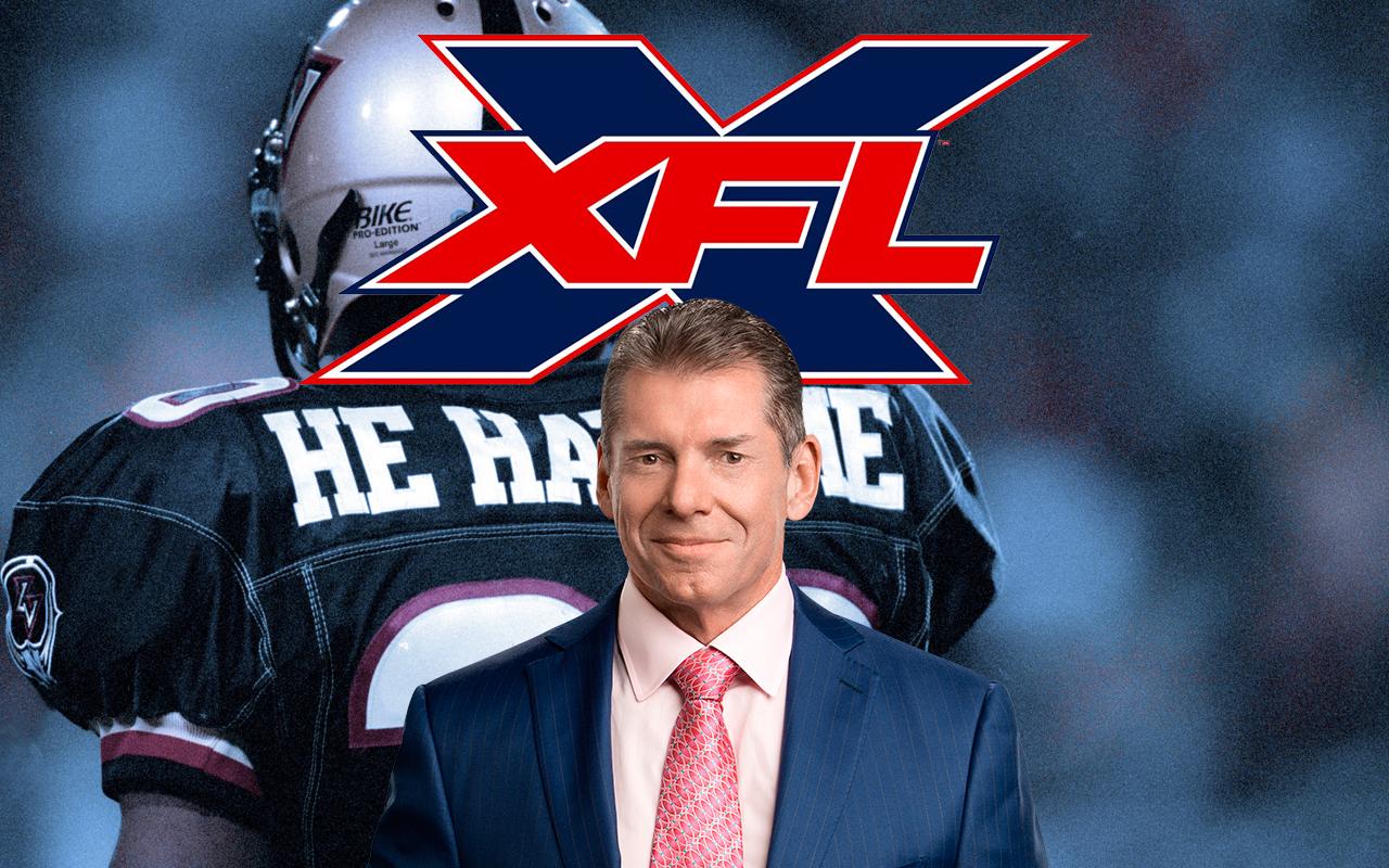 XFL Vince McMahon NFL WWE Donald Trump