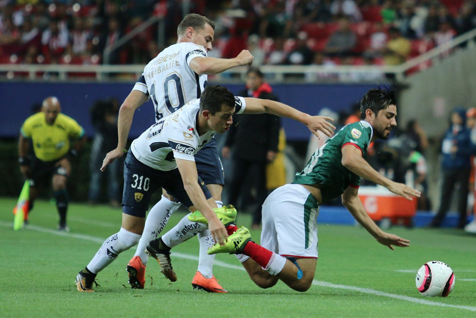 Chivas Pumas Liga MX Jornada 9 A qué hora juega