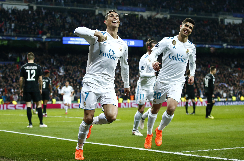Real Madrid Champions League PSG Goles Octavos Final.