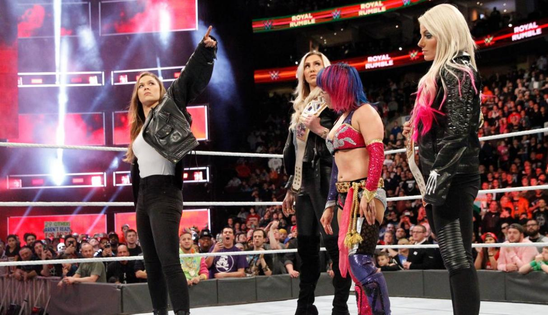 Ronda Rousey Asuka Elimination Chamber WWE Mujeres Resultados