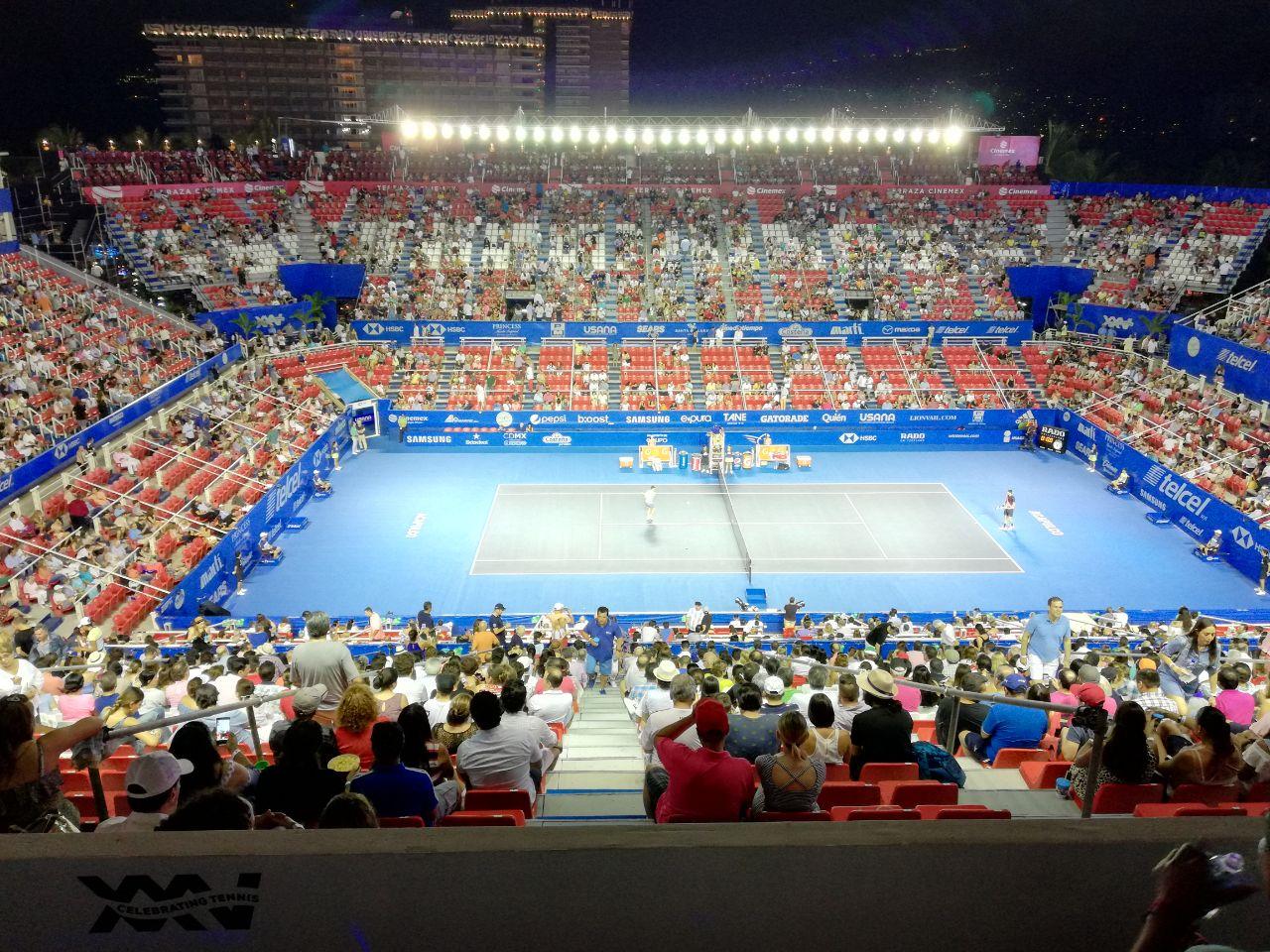 Acapulco Abierto Mexicano Tenis 2018 Guerrero Cancha