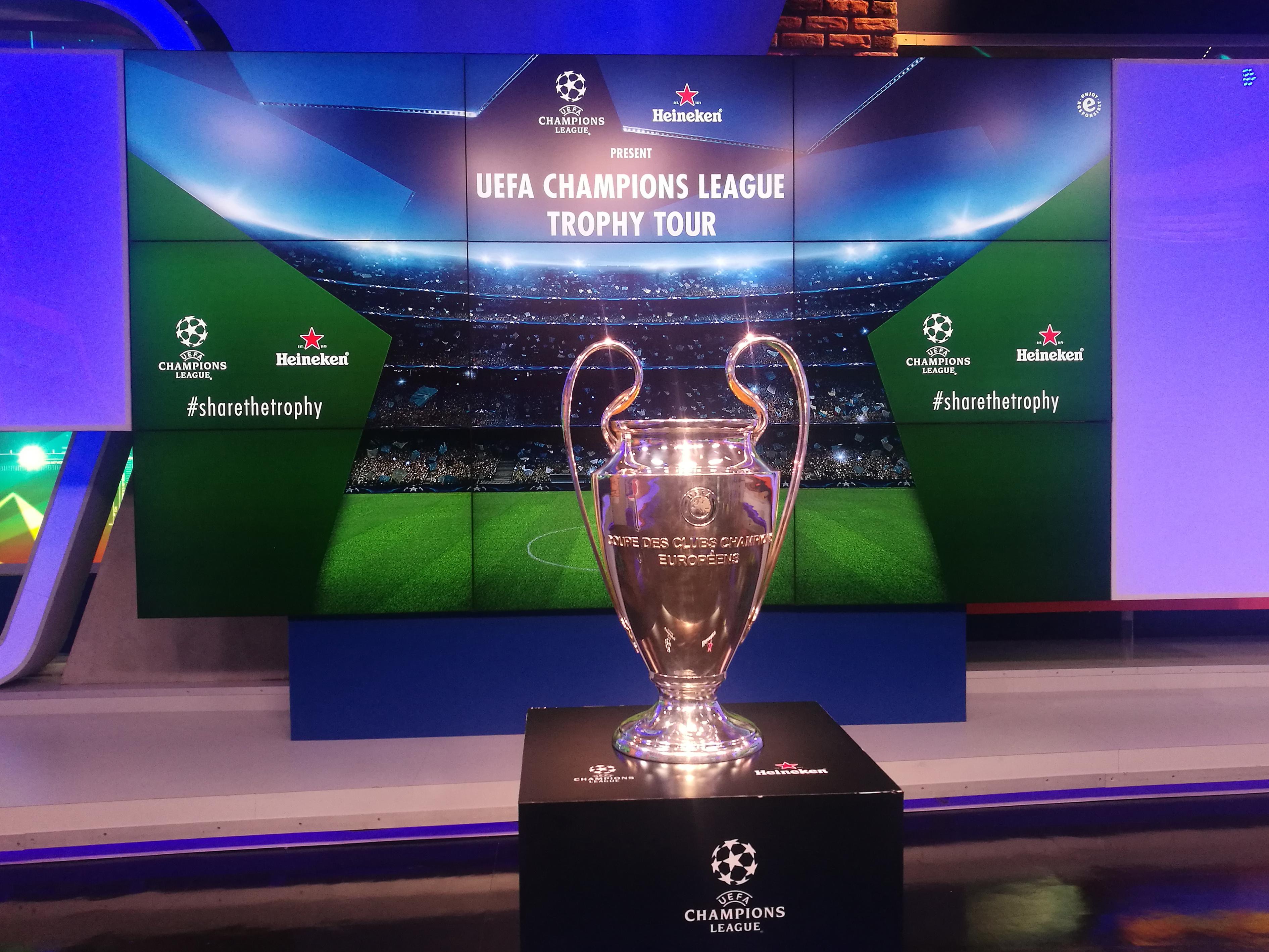Champions League, Fan Fest, Heineken, Trofeo, Tour, CDMX, Aficionados, 2018, Convivencia, Accesos