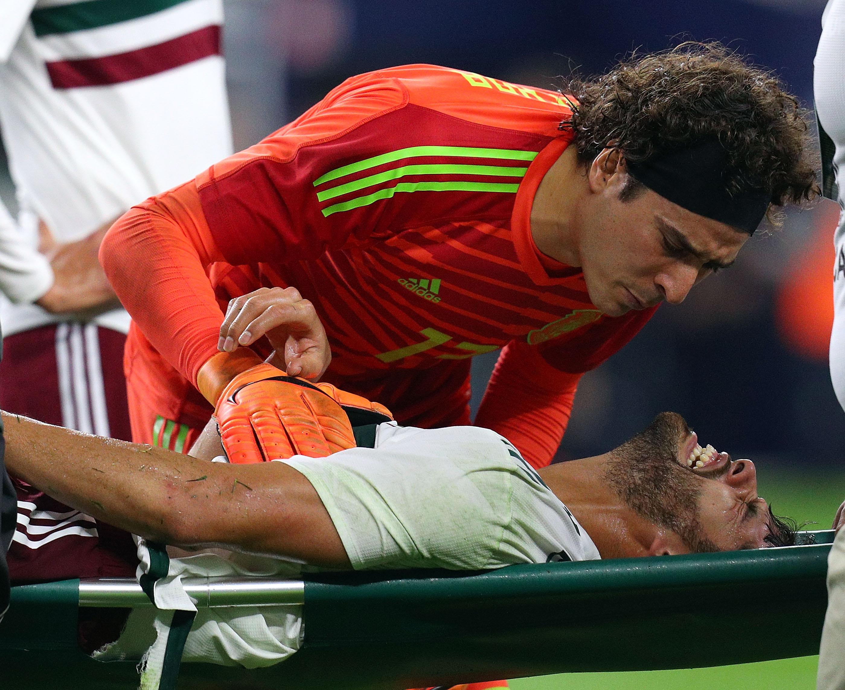 México Croacia Nestor Araujo Amistoso derrota Rusia 2018