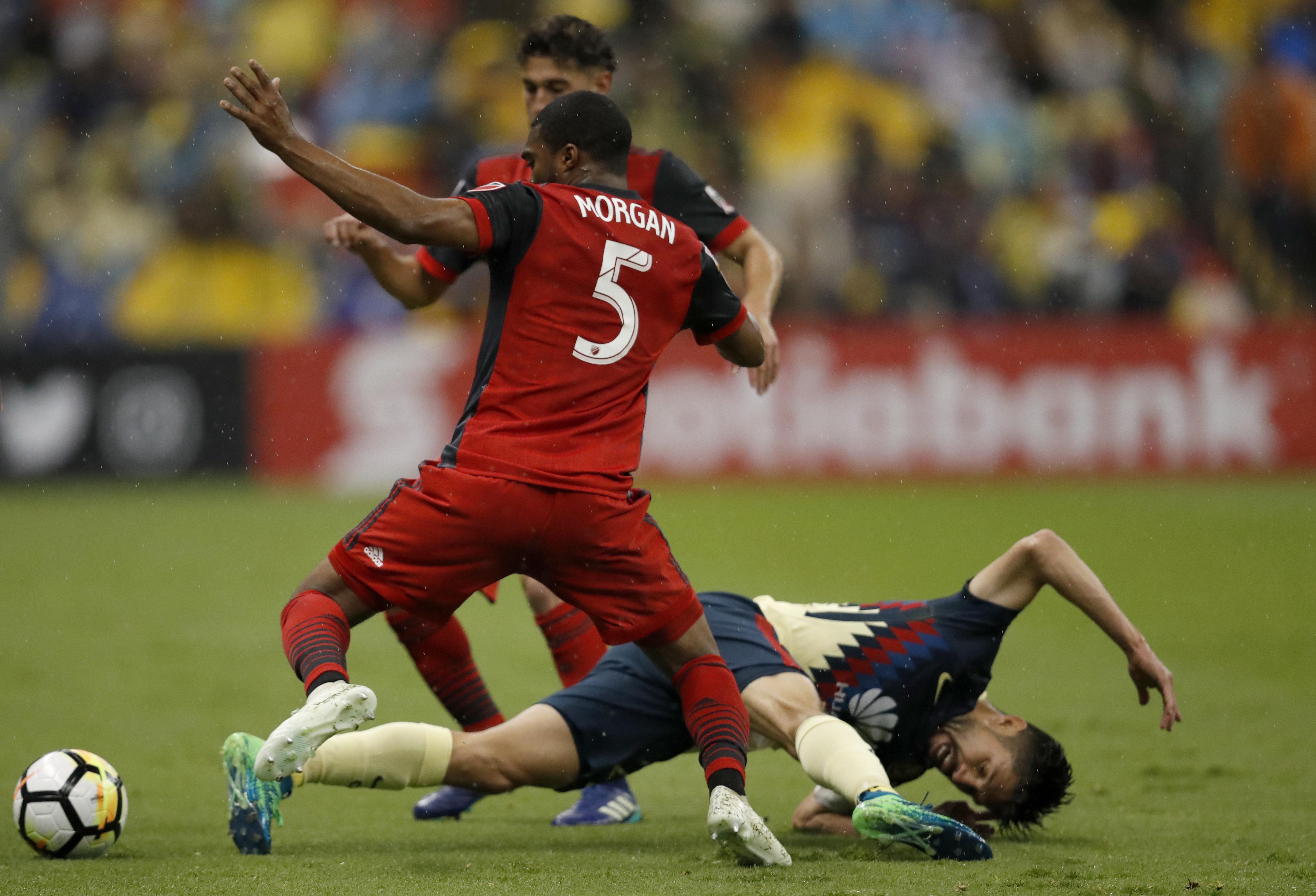 América Eliminado Toronto Concachampions Semifinal