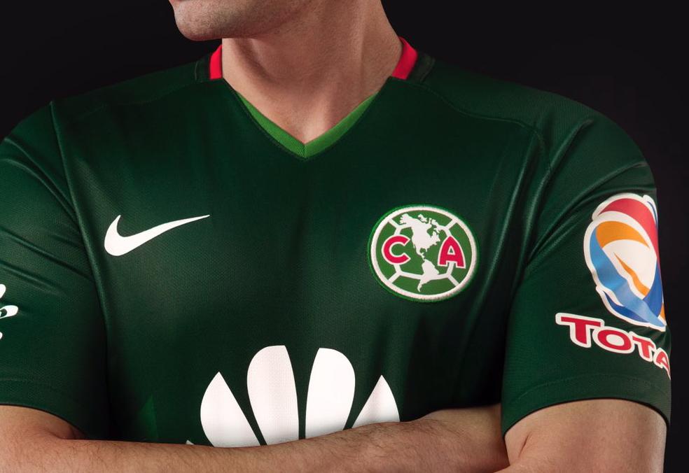 América Playera Verde Jornada 17 Clausura 2018 Rusia 2018 Mundial