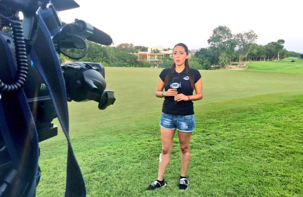 Maria Fernanda Mora, Fox Sports, En Vivo, Agredida Sexualmente, Aficionados Chivas, Reportera, Final, Concachampions, Transmision