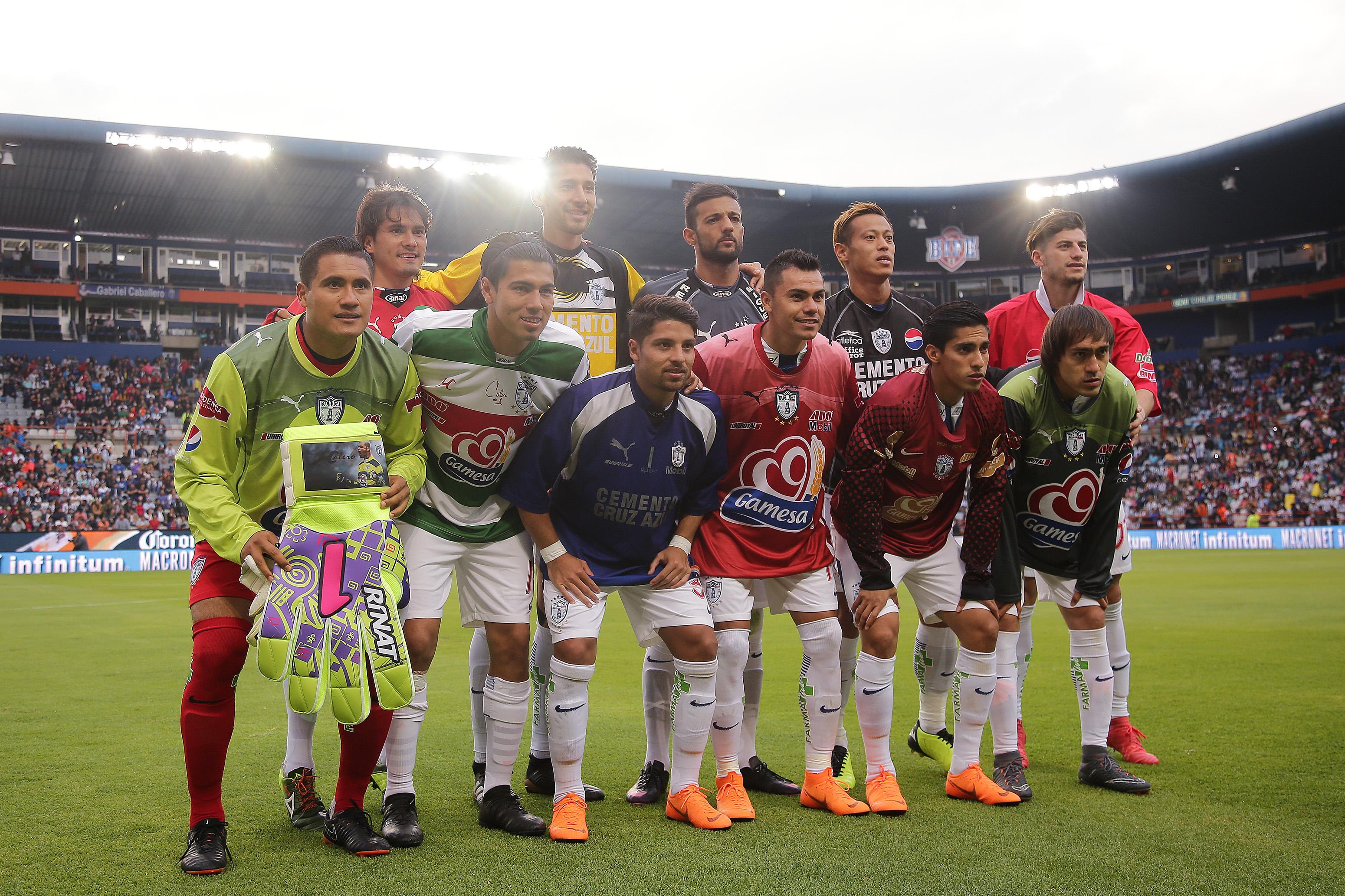 Miguel Calero, Futbolistas, Pachuca, Playeras, Cumpleaños, Homenaje, Condor, Tuzos, Santos, Portero