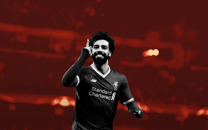 Mohamed Salah Liverpool Inglaterra Champions League Beatles