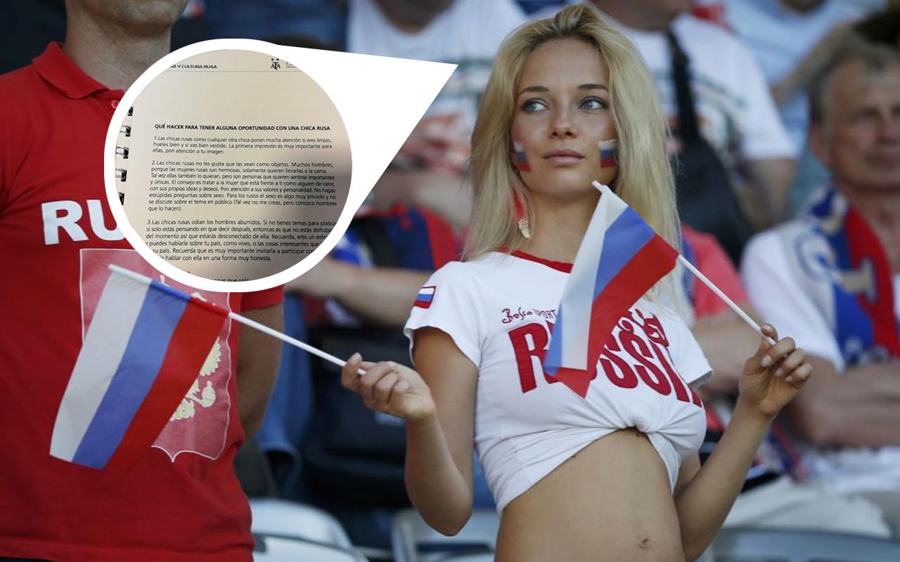 AFA Manual Mundial Rusia 2018 Mujeres Rusas Argentina Portada