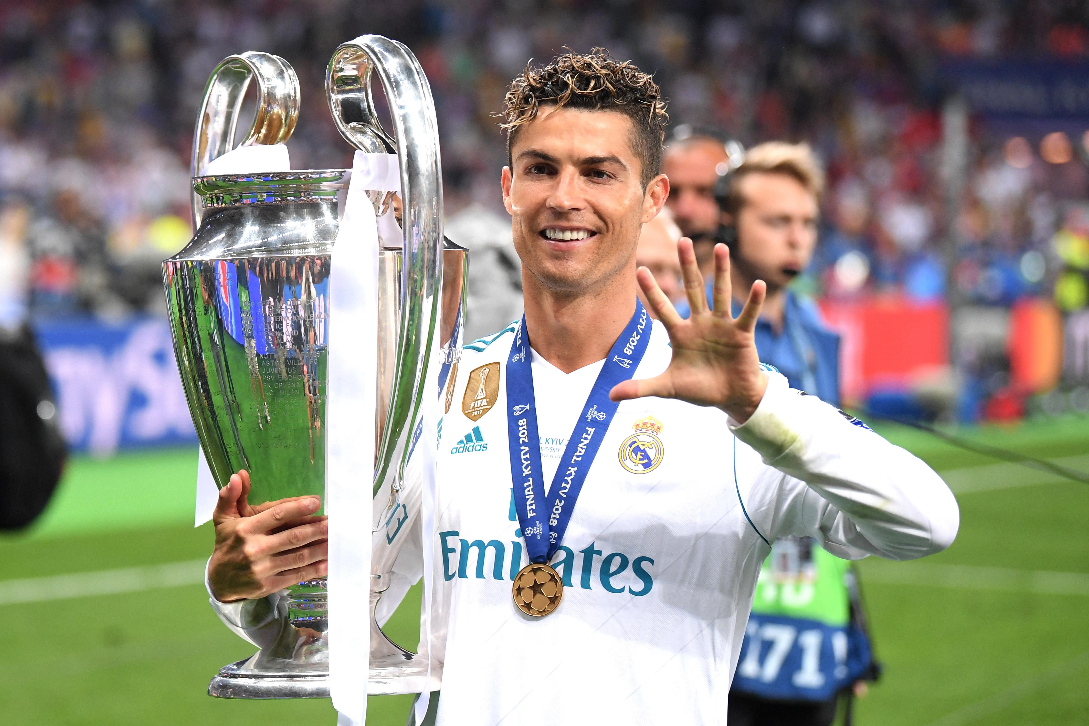 Cristiano Ronaldo Despedida Real Madrid Champions League