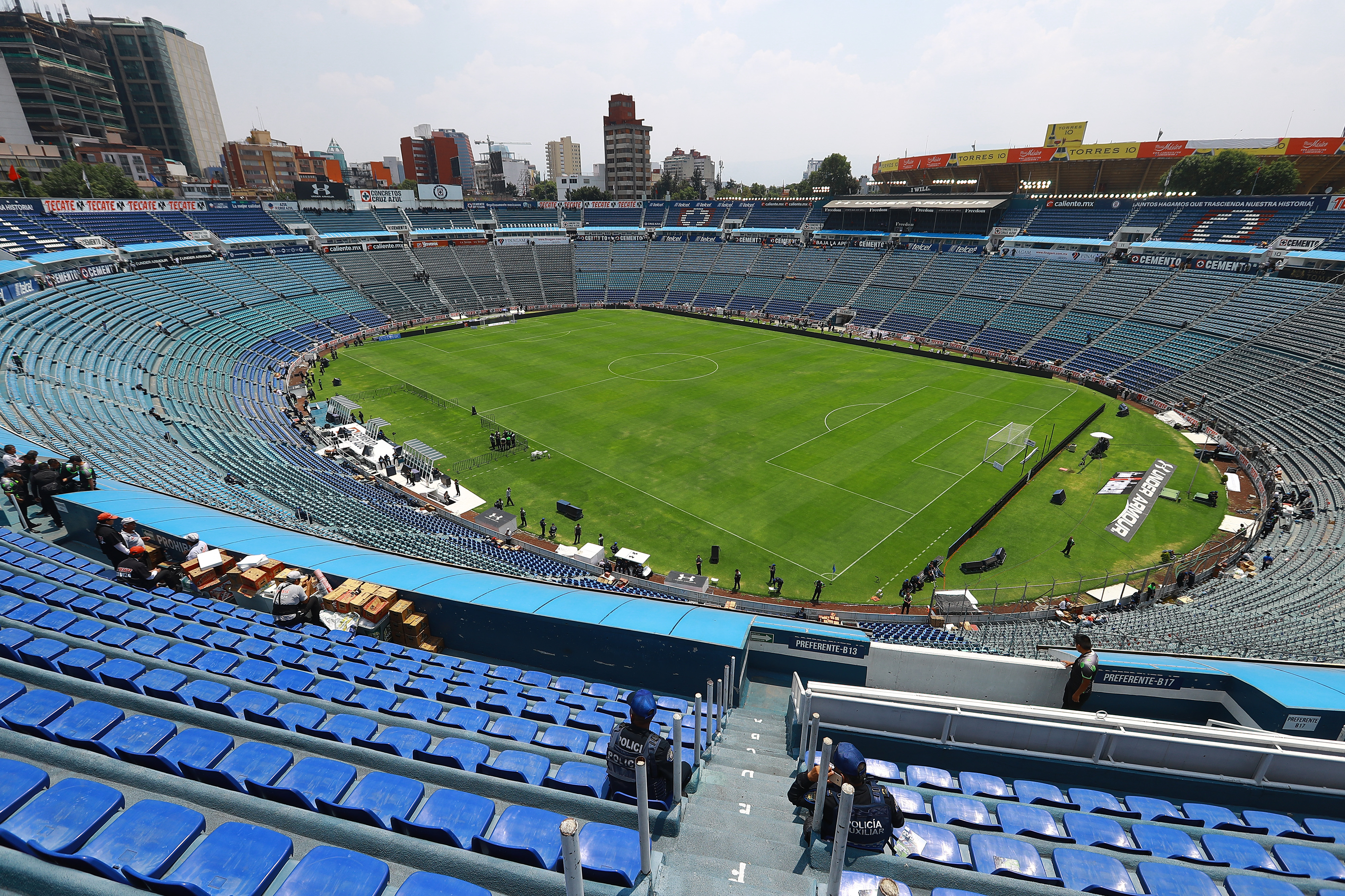Estadio Azul Demolición Cruz Azul Plaza Comercial Demoler Ciudad de los Deportes