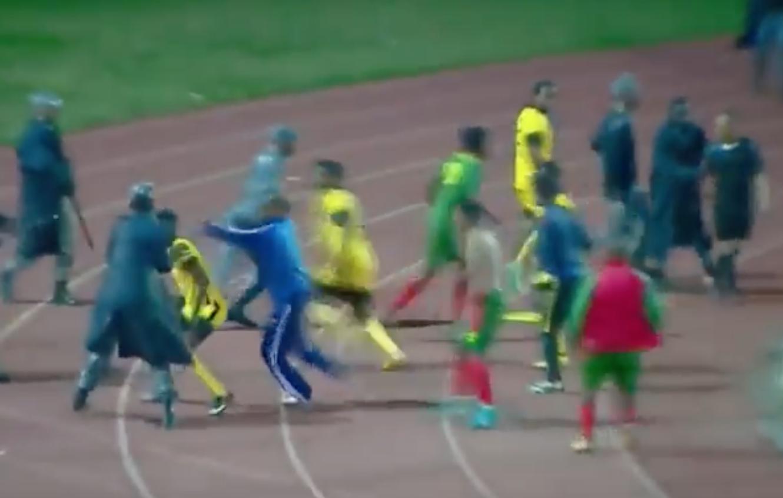 Golpean Árbitro Etiopía Video Primera División
