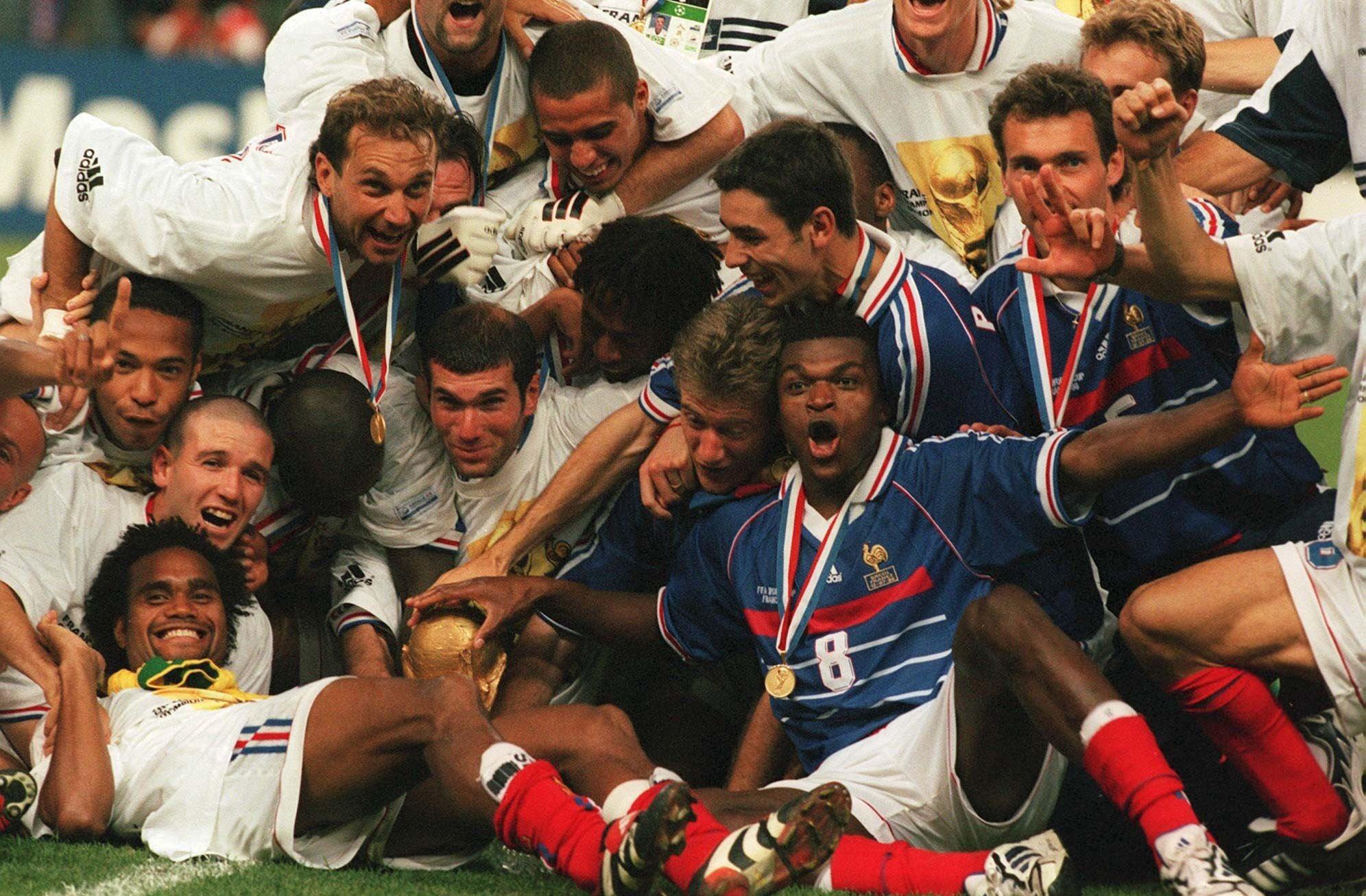 Final Francia Brasil 1998 Mundial Manipularon Final Michel Platini