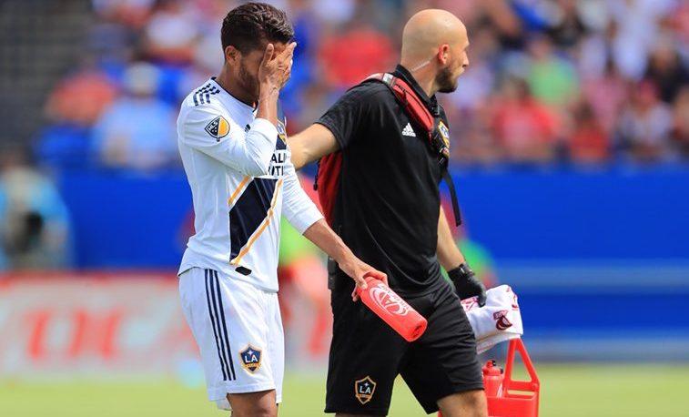 Jonathan Dos Santos Lesionado Galaxy se Perdería Mundial Rusia 2018