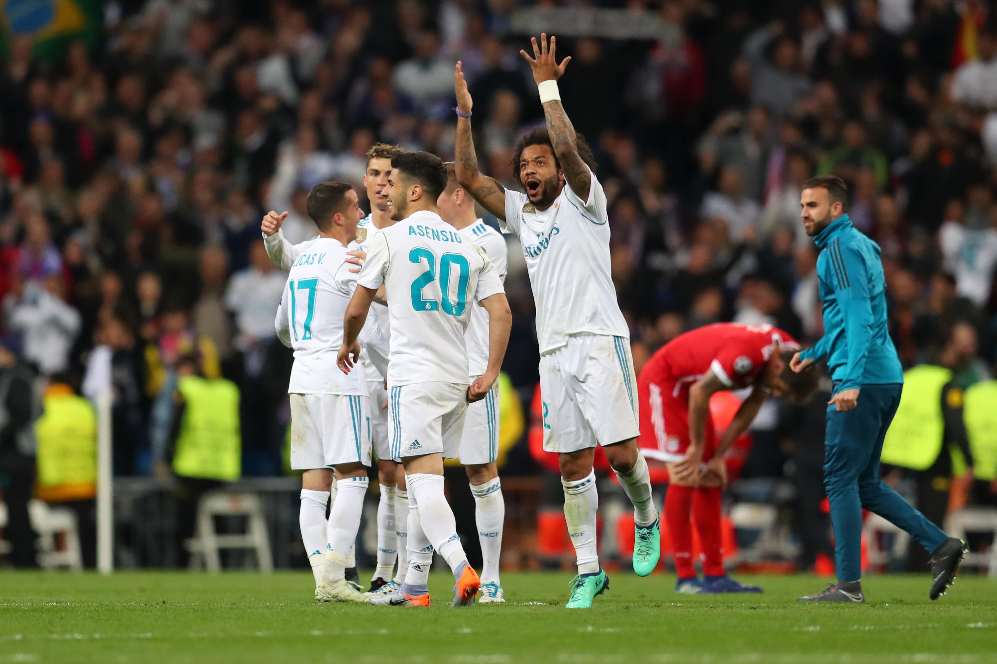 Real Madrid Bayern Múnich Champions League Semifinales