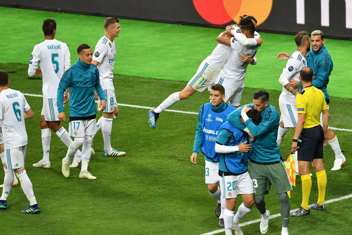 Real Madrid Liverpool Final Champions League Gareth Bale Salah
