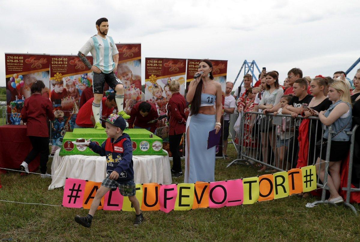 Lionel Messi Replica Pastel Aficionados Cumpleaños