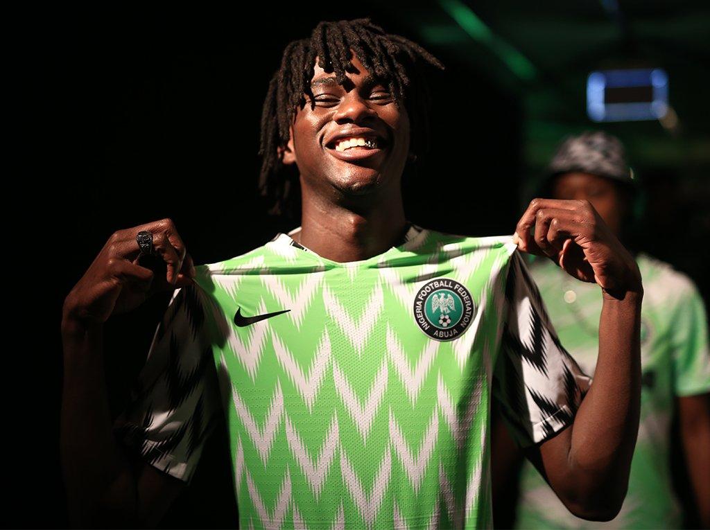 camiseta nigeria londres