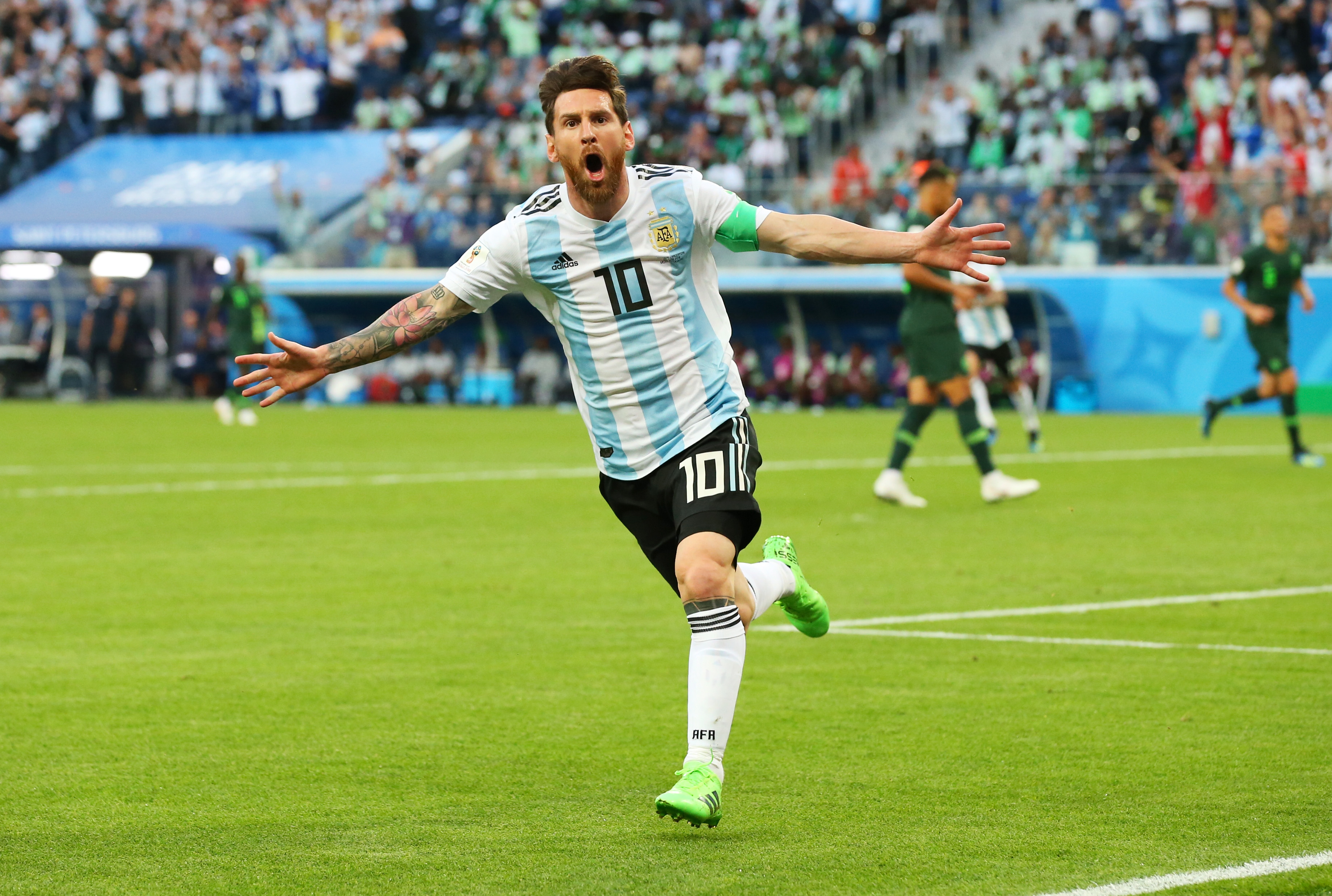 Francia Argentina Mundial Rusia 2018 Los Pleyers