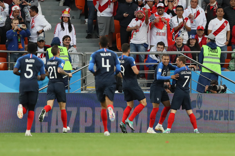 Francia Perú Mundial Rusia 2018 Goles