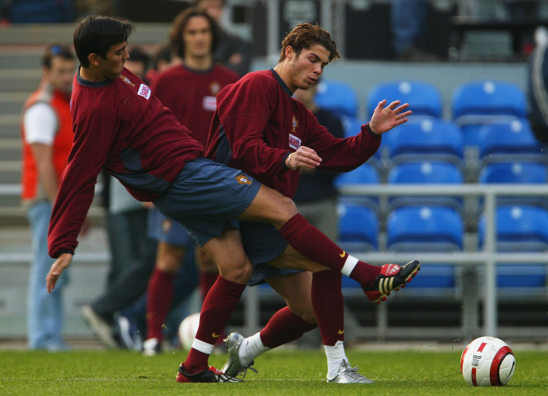 Resultado de imagen para cristiano ronaldo 2003 portugal