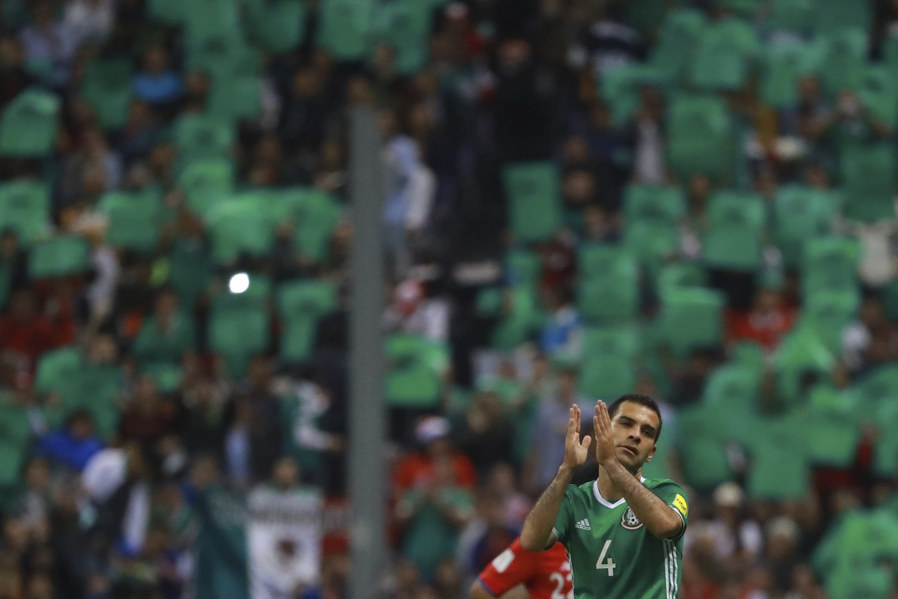 Rafa Marquez Seleccion Mexicana Despedida Estadio Azteca Kaise Adios Azteca