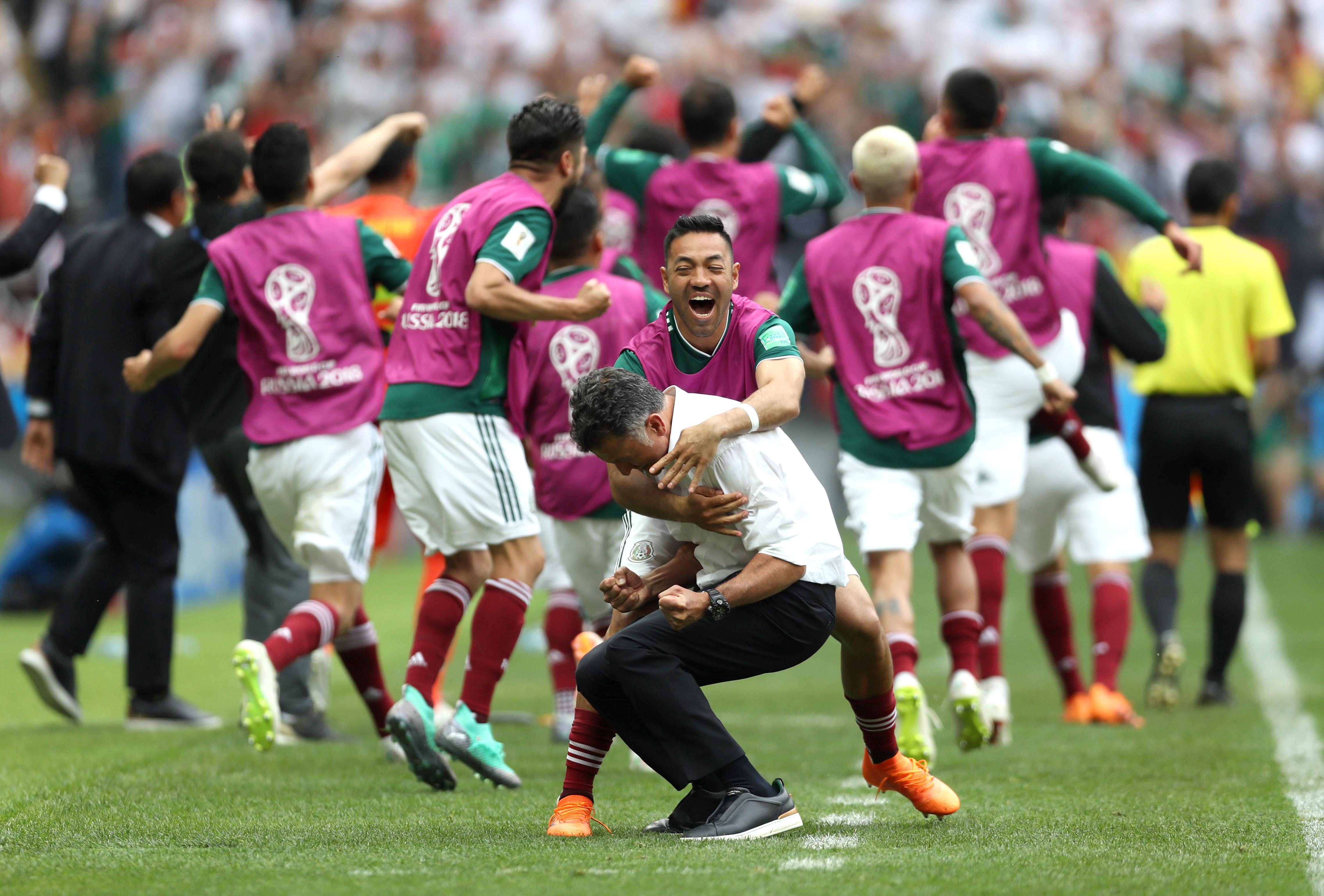 Alemania México Mundial Rusia 2018 LOS PLEYERS