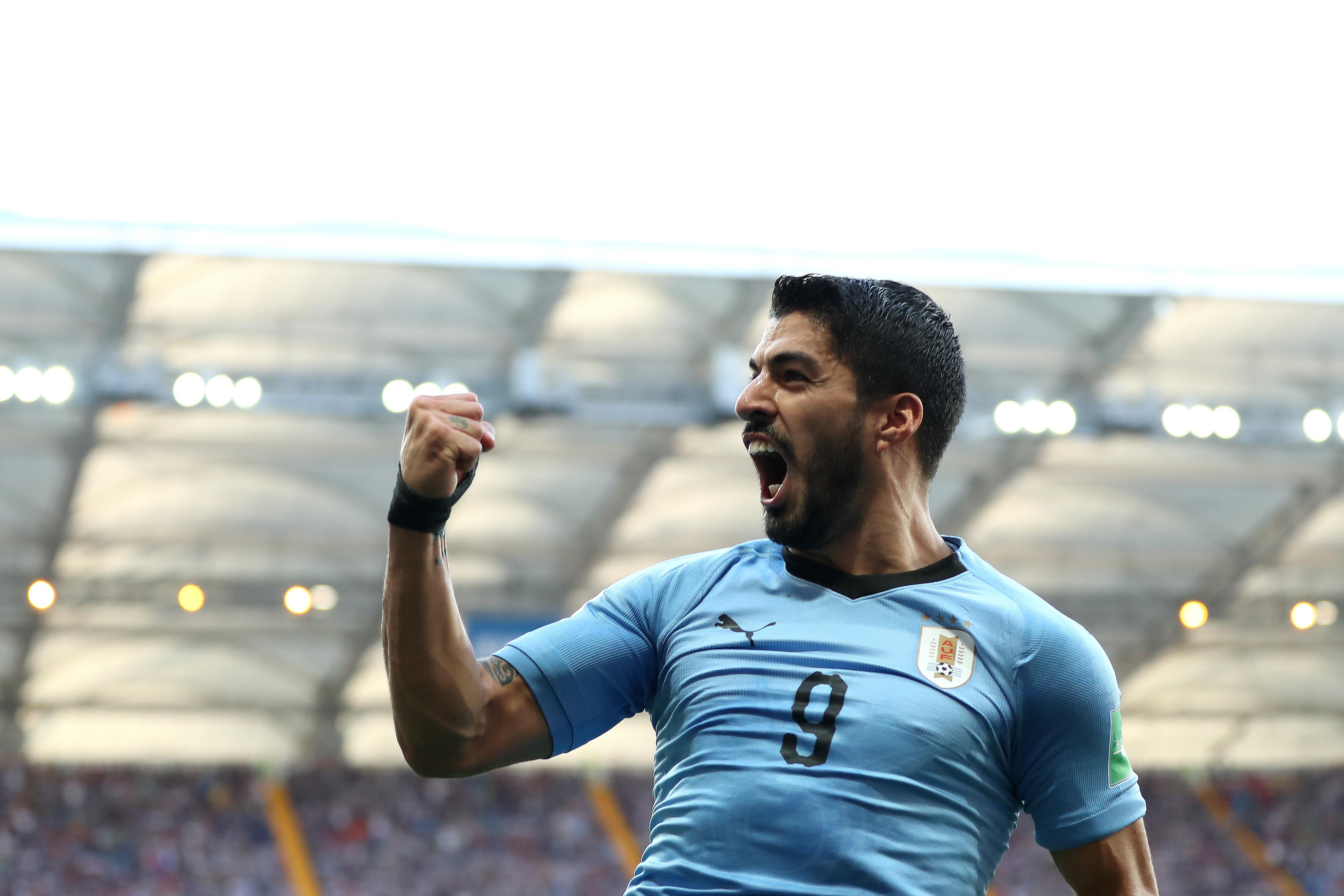 Uruguay Arabia Saudita Rusia 2018 asi quedó