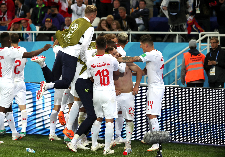 Serbia vs Suiza así se vivio