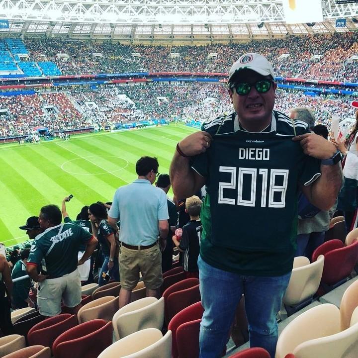 Gilberto Martínez Aficionado Mexicano Mundial Rusia 2018