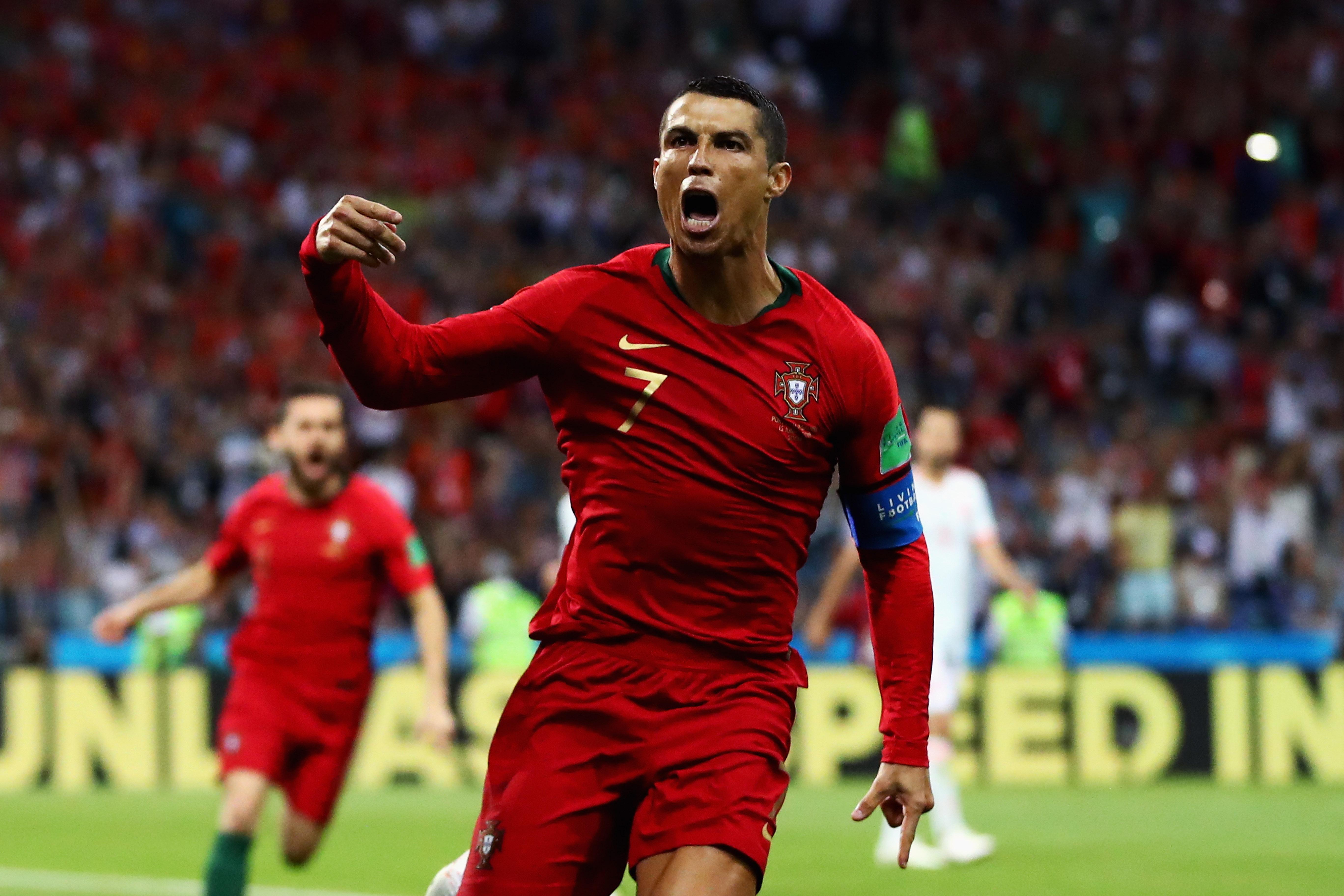 Hora Juega Portugal Marruecos Mundial Rusia 2018