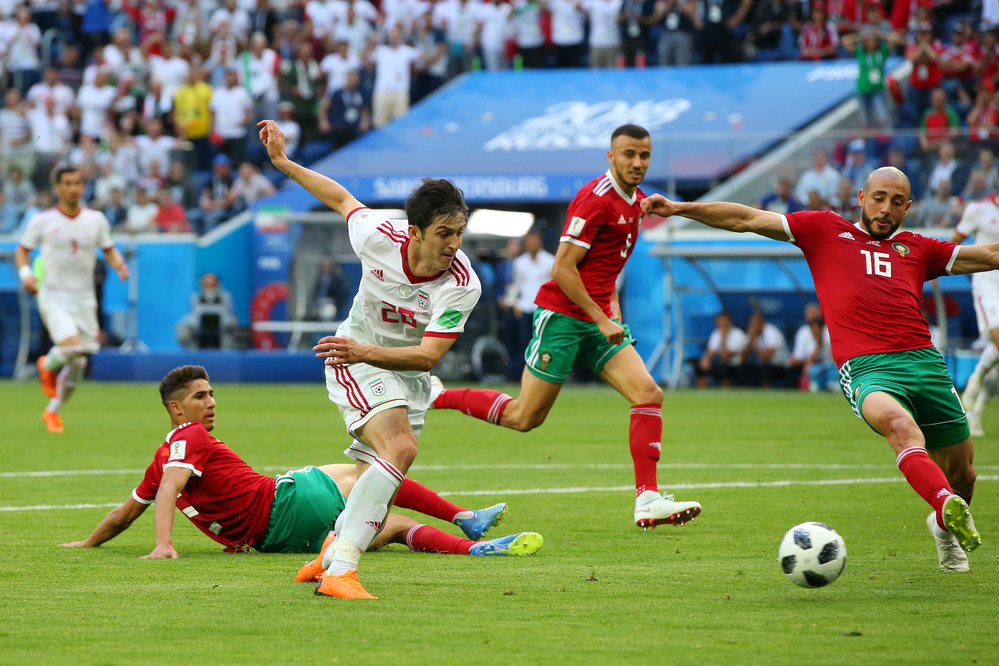 Irán Vence Marruecos Mundial Rusia 2018