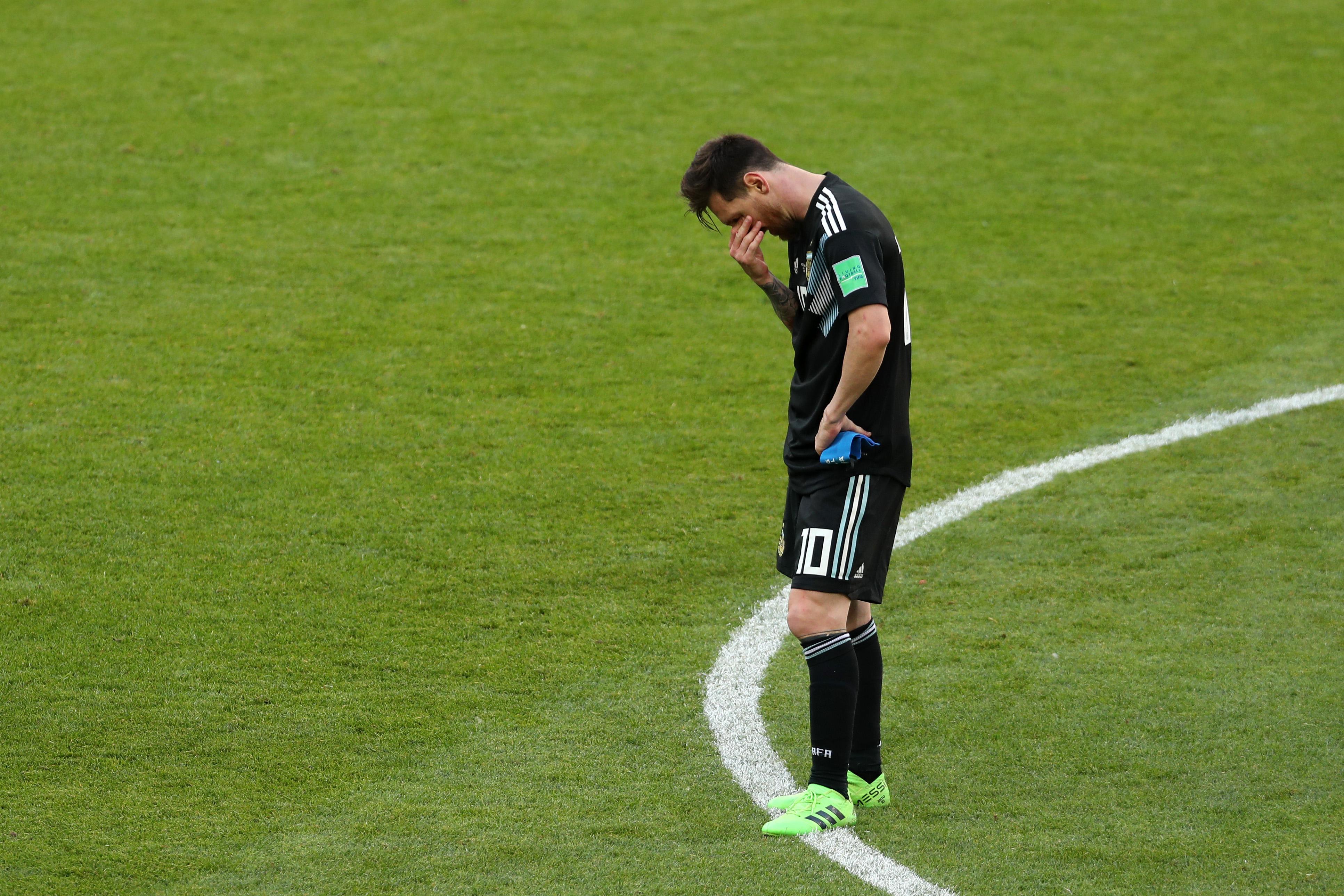 Lionel Messi Penal Argentina Fallado Rusia 2018, Lionel Messi Penal Fallado Argentina, Lionel Messi penal, Lionel Messi
