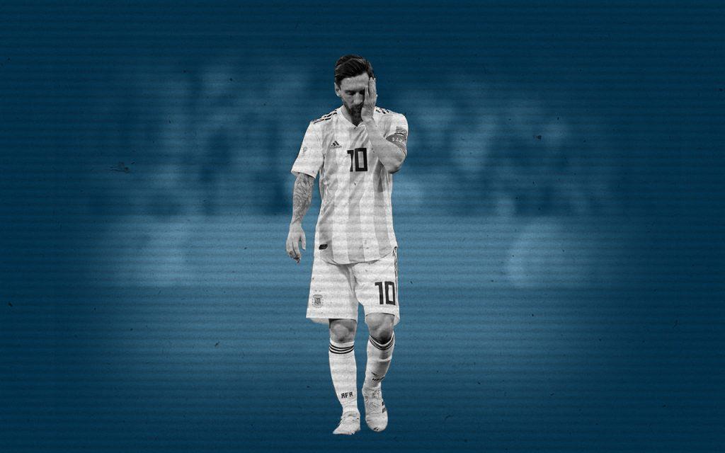 Selección Argentina Messi pecho frio